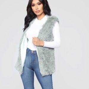 Essential Faux Fur Vest